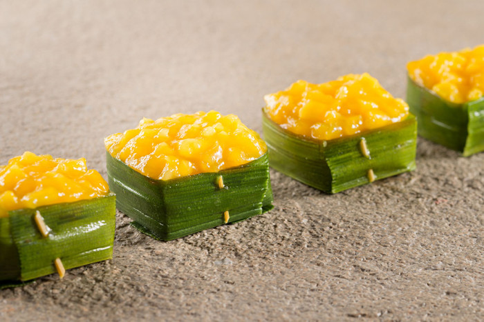 Reis-Mango-Dessert