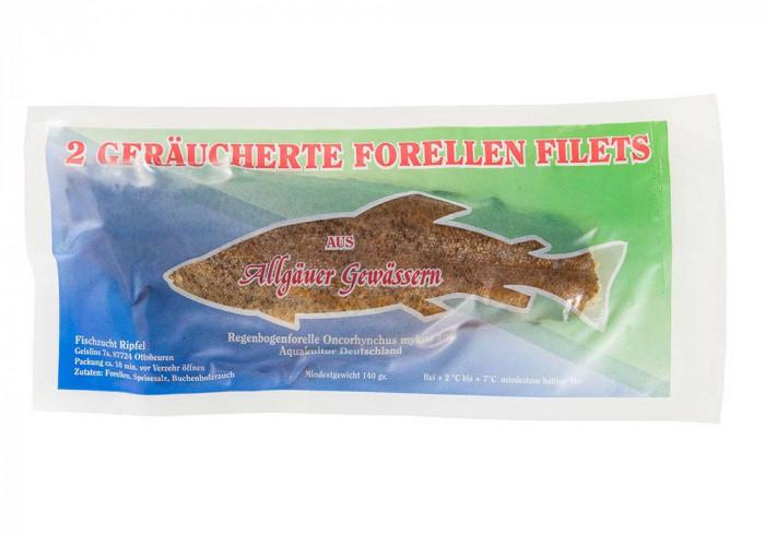 geräuchertes Allgäu-Forellenfilet